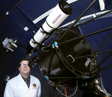 anthony with telescope compressed