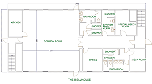 Bellhouse Floor plan