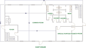 easthouse floor plan