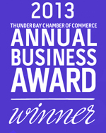 icon indicating FWHP has won a 2013 Chamber of Commerce Business Award
