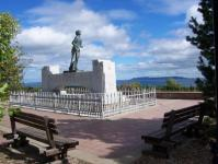 Landscape of Terry Fox monument