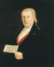 Painting of Isaac Todd