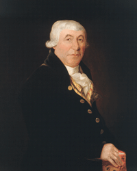Painting of James McGill