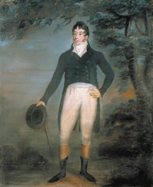 Painting of John McDonald of Garth