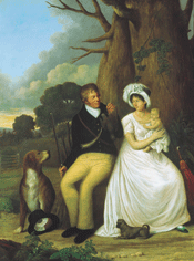 Painting of William McGillivray and Family