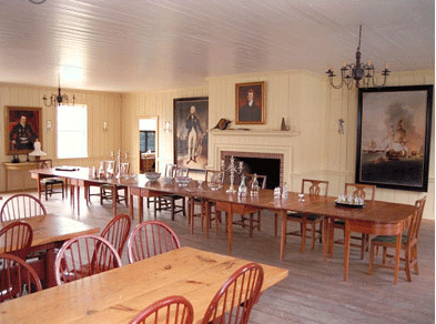 Inside the Gray Hall Dining Room