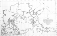 The David Thompson Map of Canada